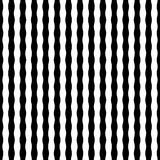 Vector modern seamless geometry pattern striped, black and white Royalty Free Stock Image
