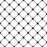 Vector modern seamless geometry pattern tiles, black and white abstract Stock Photos