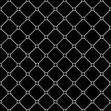 Vector modern seamless geometry pattern tiles, black and white abstract Royalty Free Stock Image