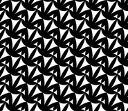 Vector modern seamless geometry pattern weird, black and white abstract geometric background Stock Photos