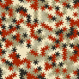 Vector modern seamless geometry tessellation pattern, abstract g Royalty Free Stock Photography