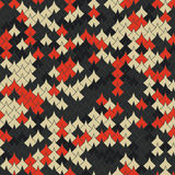 Vector modern seamless geometry tessellation pattern, abstract  Royalty Free Stock Photo