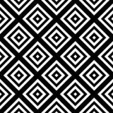 Vector modern seamless pattern rhombuses Stock Photography