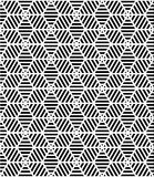 Vector modern seamless pattern sacred geometry Stock Photos