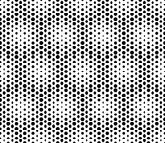 Vector modern seamless sacred geometry pattern dots, black and white abstract Stock Photos