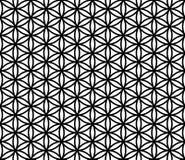 Vector modern seamless sacred geometry pattern flower of life Stock Image