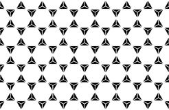 Vector modern seamless sacred geometry pattern hexagon Stock Images