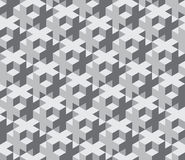 Vector modern seamless sacred geometry pattern trippy , black and white abstract Stock Photo