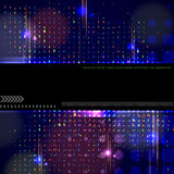 Vector modern technology background design. Royalty Free Stock Photos