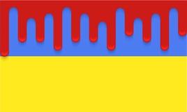 Vector modern ukraine flag background. Eps 10 Royalty Free Stock Photos