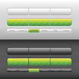 Vector modern user interface Royalty Free Stock Image