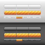 Vector modern user interface Stock Image