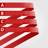 Vector moderne infographic. Ontwerpelementen Royalty-vrije Stock Foto
