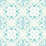 Vector Moderne Witte Blauwgroene Abstracte Geometrische Geweven Naadloze Patroonachtergrond Groot voor elegante textuurstof Stock Afbeeldingen