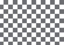 Vector modernen karierten, grauen und weißen Textildruck des Musters Lizenzfreie Stockfotos