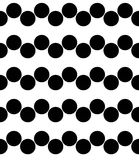 Vector modernen nahtlosen Geometriemustersparren, Schwarzweiss-Zusammenfassung Lizenzfreies Stockbild