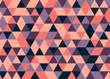 Vector modernes buntes Geometriedreieckmuster, Farbzusammenfassung Vektor Abbildung