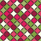 Vector modernes nahtloses buntes Geometriemuster, Farbzusammenfassung Stockbild