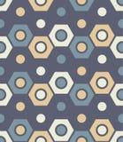 Vector modernes nahtloses buntes Geometriemuster, Farbzusammenfassung Stockfoto