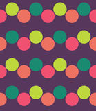 Vector modernes nahtloses buntes Geometriemuster, Farbzusammenfassung Lizenzfreie Stockfotos
