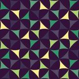 Vector modernes nahtloses buntes Geometriemuster, Farbzusammenfassung Stockfotos