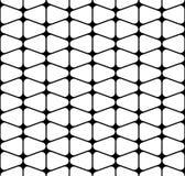 Vector modernes nahtloses Geometriemuster, Schwarzweiss-Zusammenfassung Stockbild