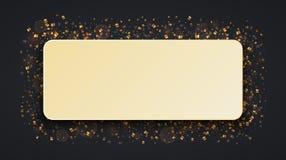 Vector modernes Weihnachts- oder 2018-guten Rutsch ins Neue Jahr-Winterurlaubeinladungskarte Stockfoto