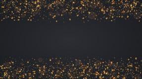 Vector modernes Weihnachts- oder 2018-guten Rutsch ins Neue Jahr-Winterurlaubeinladungskarte Lizenzfreie Stockbilder