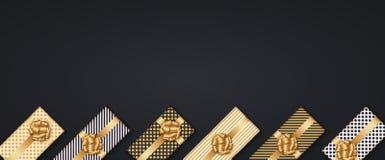 Vector modernes Weihnachts- oder 2018-guten Rutsch ins Neue Jahr-Winterurlaubeinladungskarte Lizenzfreies Stockbild