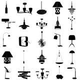 Vector moderno de la iluminación Imagen de archivo libre de regalías