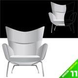 Vector moderno de los muebles