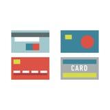 Vector money card isolated Royalty Free Stock Photo