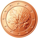 Vector Money euro cent germany Stock Photo