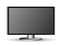Vector monitor icon Stock Image