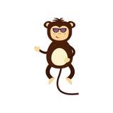 Vector monkey icon. Stock Photos