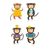 Vector monkey icon. Stock Photo