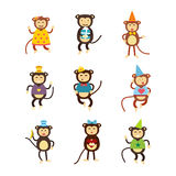 Vector monkey icon. Stock Images