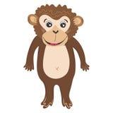 Vector Monkey Illustration Stock Images