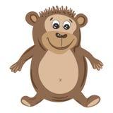 Vector Monkey Illustration Royalty Free Stock Photo