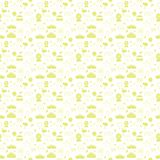 Vector monochrome carnival seamless pattern background. stock illustration