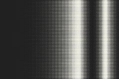 Vector monochrome circles halftone background. Halftone dots. Vector black and white circles halftone background. Geometric vintage monochrome fade wallpaper Stock Illustration