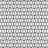 Vector monochrome pattern, abstract chain black lines on white background, subtle vertical chains. Design element for prints Stock Photography