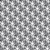 Vector monochrome seamless background from blots Royalty Free Stock Images