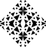 Seamless Monochrome seamless pattern, geometric vector texture, smooth stock illustration