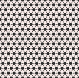 Vector monochrome seamless pattern, black hexagons Stock Photo