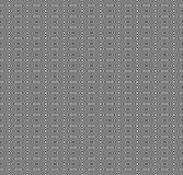 Vector monochrome seamless pattern, black & white mosaic Royalty Free Stock Image