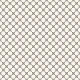Vector monochrome seamless pattern, circular lattice, mesh, thin Royalty Free Stock Photography
