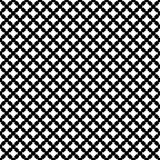 Vector monochrome seamless pattern, cross stitching Royalty Free Stock Image
