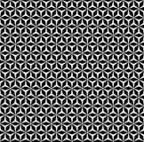 Vector monocolor seamless pattern, mosaic Royalty Free Stock Image