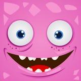 Vector Monster. Cartoon expression monster vector illustration Royalty Free Stock Photos